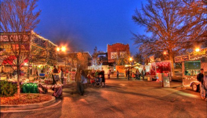Travel | Rock Hill | South Carolina | Christmasville | Christmas | Events | Christmas Lights