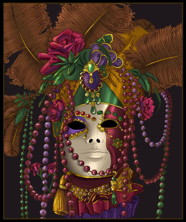 Mask by Sheridan Johns [©2008]