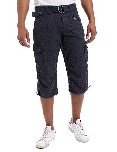 #Timezone #Herren #Shorts #MilesTZ #cargo #3/4 #pants incl. #belt,   #44 #(Herstellergröße: 29), #Blau #(mood indigo #Tcheck #3881) Timezone Herren Shorts MilesTZ cargo 3/4 pants incl. belt, Gr. 44 (Herstellergröße: 29), Blau (mood indigo Tcheck 3881), , aufgesetzte Hosentaschen an den Seiten, Short inklusive Gürtel, , ,