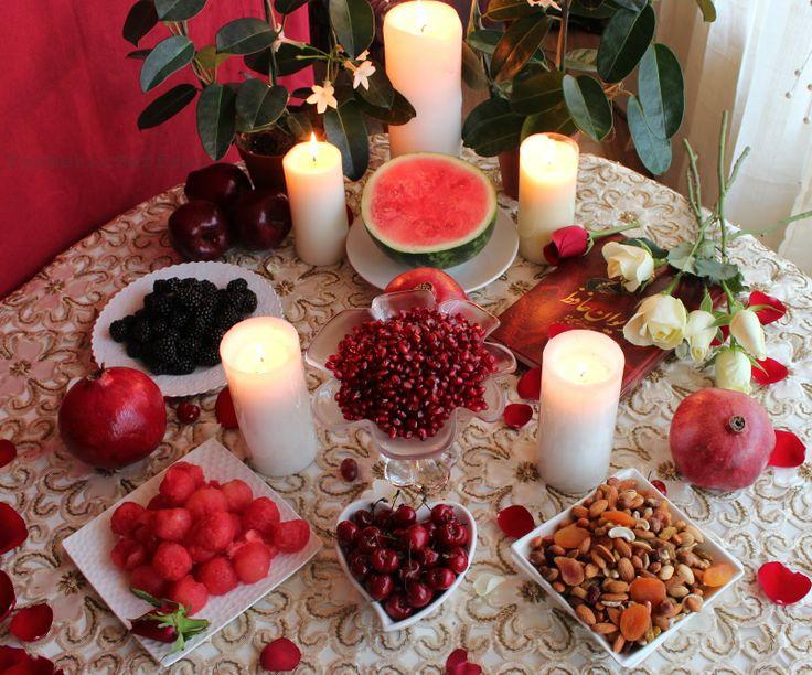 Turmeric and Saffron: Shab-e Yalda - The Longest Night of the Year (Winter Solstice) Persian Celebration 2012