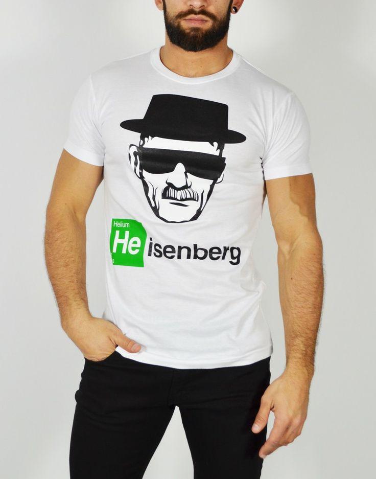 Camiseta Heisenberg. Si eres un verdadero Fan de Breaking Bad no puede faltar en tu armario esta camiseta. http://tiendas13.com/camisetas-hombre/2054-camiseta-heisenberg.html