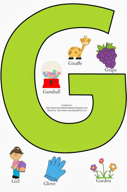 free printable letters for toddlers letter g toddler activities kid network 11622