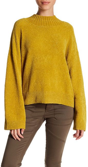 9566d7100 Abound Mock Neck Chenille Sweater