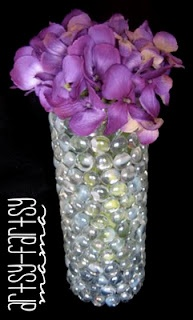 54 best images about glass marble crafts on pinterest for Creative things to put in vases