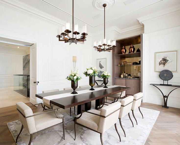The Most Stunning Dining Room Ideas For Neutral Lovers | Dining Room Design. Dining Room Furniture. #diningroomideas #diningroomdesign #diningroomdecor Read more: http://diningroomideas.eu/stunning-dining-room-ideas-neutral-lovers/
