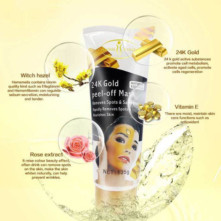 24K Gold Peel-Off Mask Special Design Mourish Skin Peel-off Mask