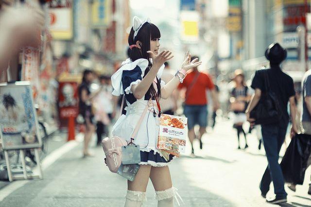Akihabara maid.