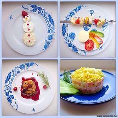 Комплекс 11 «Молочная рисовая каша»+«Воздушный творожок» «Детский шашлычок в духовке с картофельным пюре» Десерт «Ягодный крамбл» Салатик «Мамина нежность»