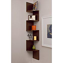 loving it.Zig Zag, Zag Wall, Corner Zig, Living Room, Wall Shelves, Wall Shelf, Corner Wall, Corner Shelves, Corner Shelf