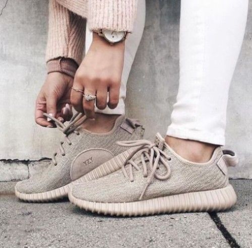 neutral adidas shoes- How to style your Adidas shoes http://www.justtrendygirls.com/how-to-style-your-adidas-shoes/