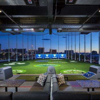 Whoever came up with Top Golf was genius and I regret not playing in Vegas. Thank goodness spoiled in KC.