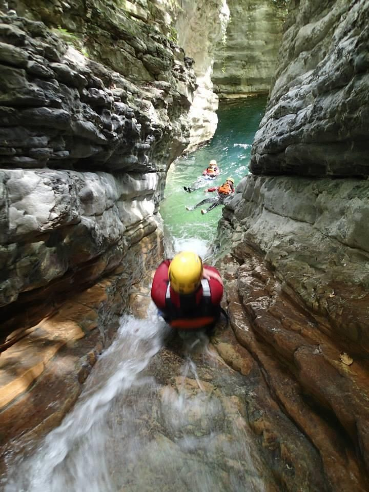 Canyoning in Lecco, Italy out of Lake Como was awesome!