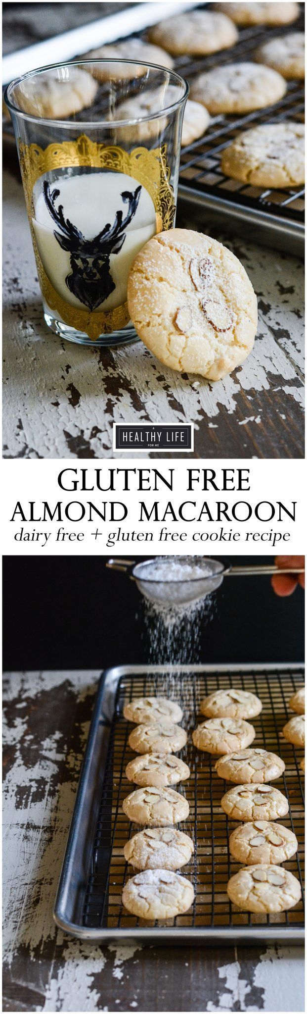 Perfect gluten free almond macaroon recipe.  All ingredients were purchased at Walmart online grocery service.  Life is made easy with online grocery shopping - A Healthy Life For Me