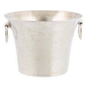 Inca Champagne Bucket | Silver | 32x22cm | Femme Luxe @ The Home