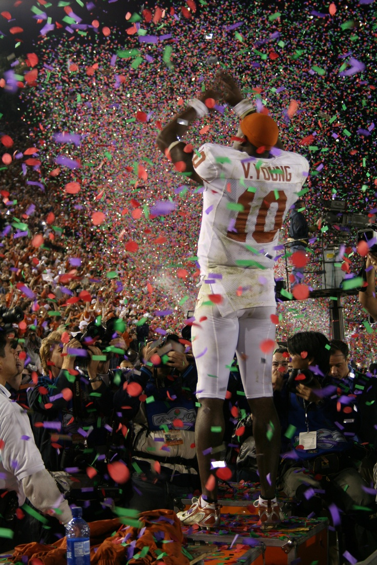 Vince Young. Rose Bowl win, National Champions 2006.