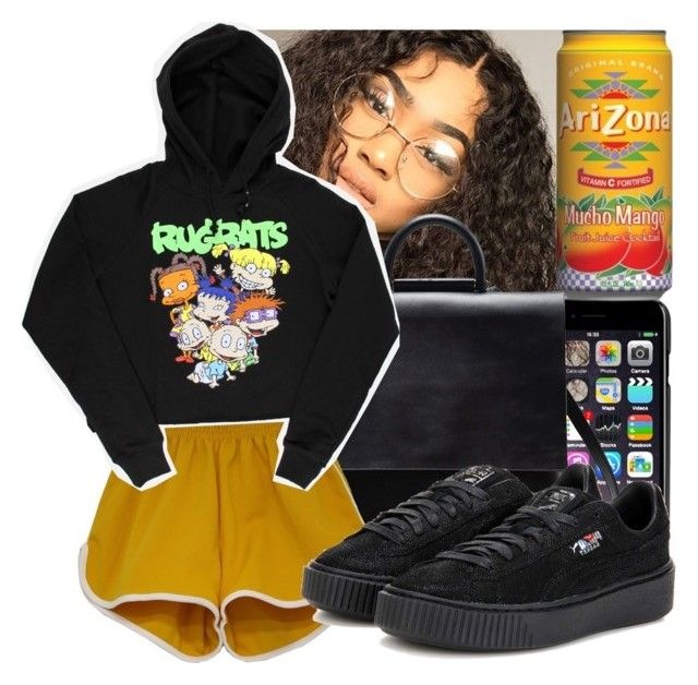 911/Call Me x Tyler the Creator by destiny-xcx on Polyvore featuring polyvore fashion style Puma Dolce&Gabbana clothing