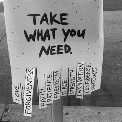 All you need do is ask . . .