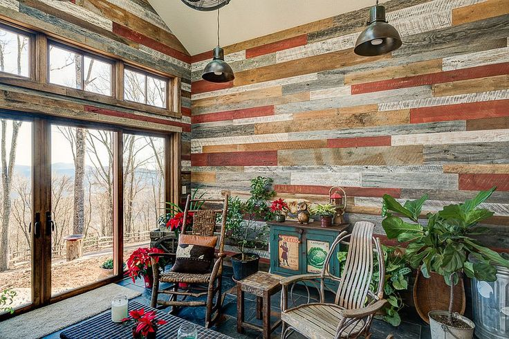 25 best ideas about rustic sunroom on pinterest for Allure cement siding