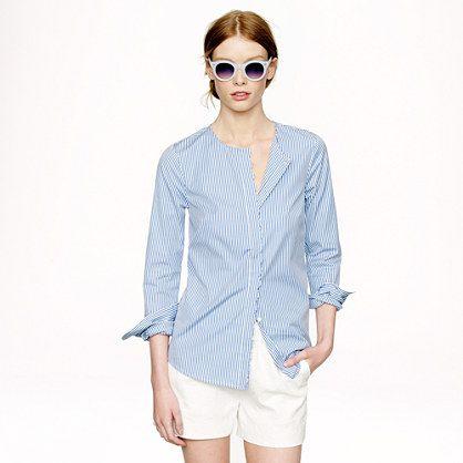 Scallop Dress Shirt JCREW