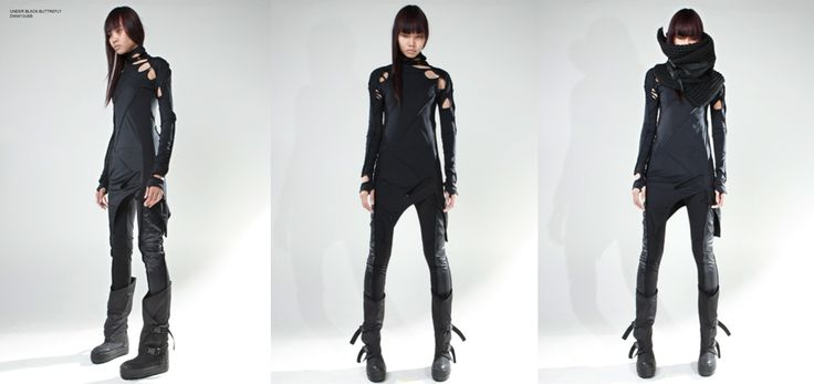 """DEMOBAZA WOMAN AW2013 """"HIGH FREQUENCY"""" Post-apocalyptic feel clothing"""