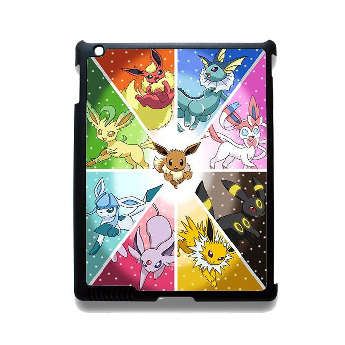 Pokemon Pocket Monster Glasses Phonecase Cover Case For Apple Ipad 2 Ipad 3 Ipad 4 Ipad Mini 2 Ipad Mini 3 Ipad Mini 4 Ipad Air Ipad Air 2