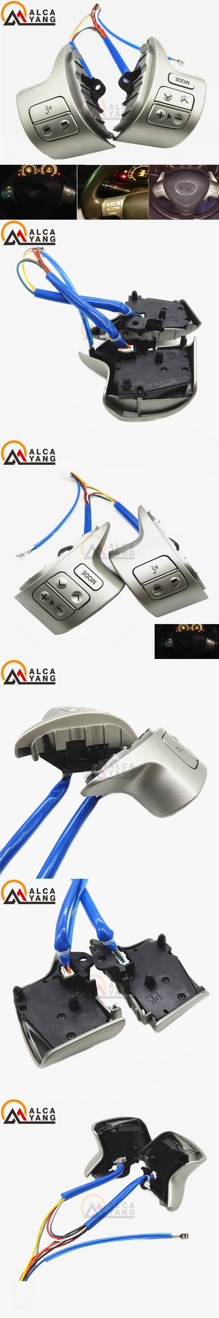 Bluetooth Steering Wheel Audio Control Switch For Toyota Corolla ZRE15 2007 ~2010