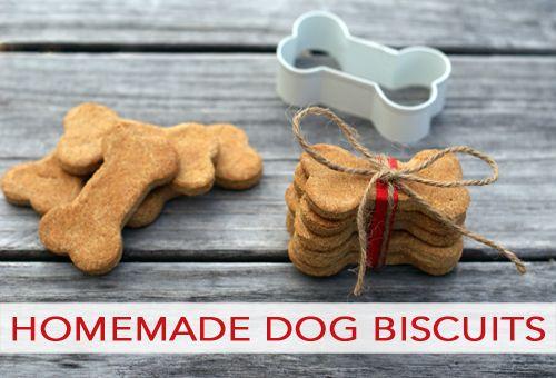 Homemade Dog Biscuits make for animal shelter