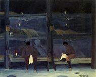 Barracks by Horace Pippin