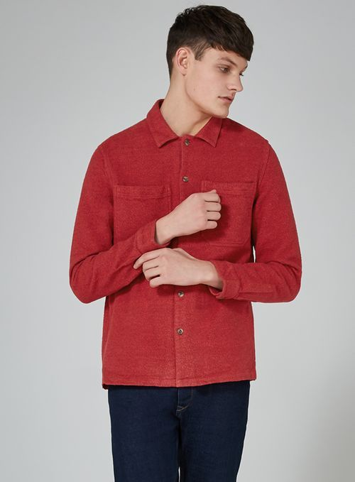 Red Flannel Shirt - New Arrivals - New In - TOPMAN