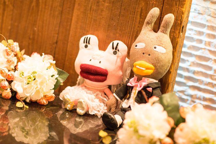 my wedding dolls