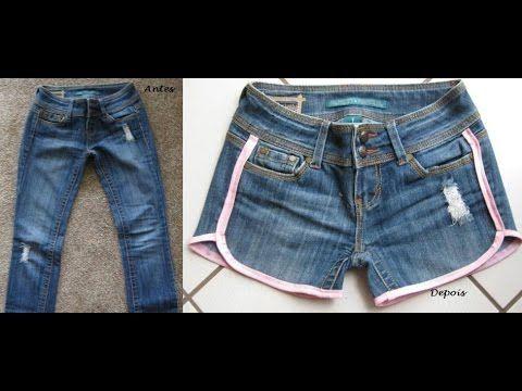 25 melhores ideias de shorts jeans customizados no