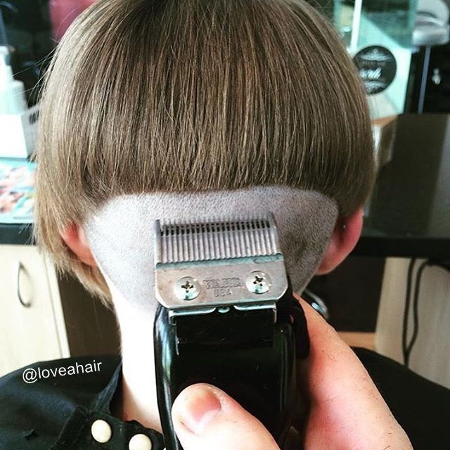 59 best bzzzzzzz images on pinterest short hairstyle for Tonte