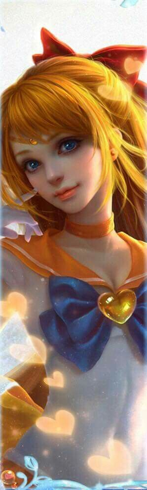 Sailor Moon  -  Sailor Venus  -  Minako Aino