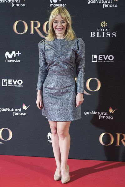 Spanish actress Maria Adanez attends 'Oro' premiere at the Callao cinema on November 8, 2017 in Madrid, Spain. - 41 of 102