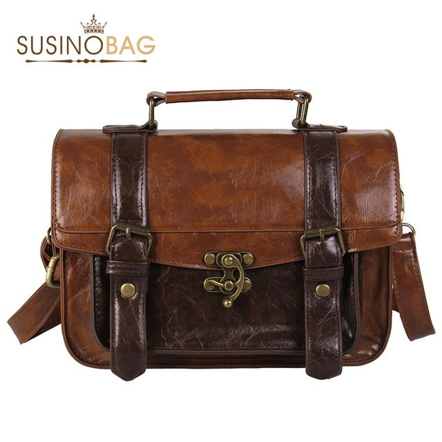 Опрятный стиль женщины портфель классические мори девушки женщин кожаная сумка сумки досуга портативные женщины сумки
