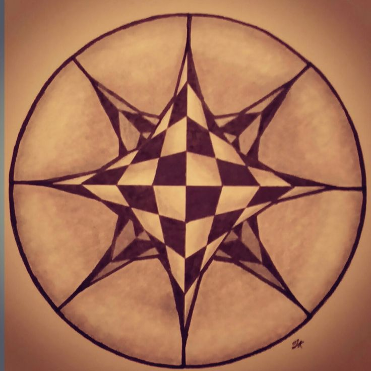 """""""peepholes 3"""" Zentangle art"""
