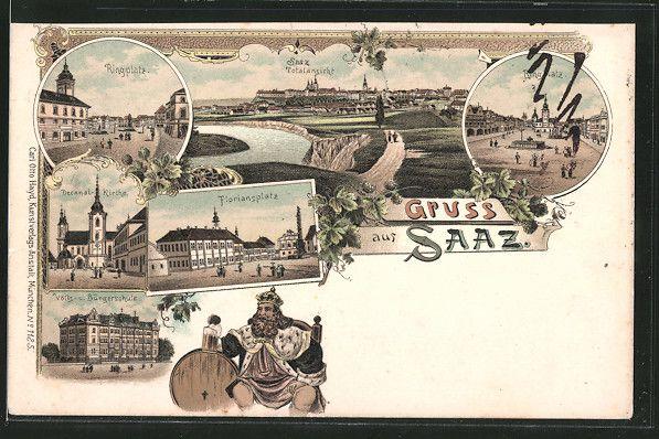 City Žatec / Saaz | Ústecký kraj / Region Aussig | Page 3 | old Postcards