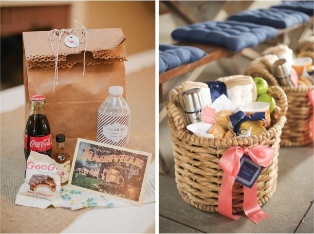 Wedding Gift Bags For Out Of Town Guests