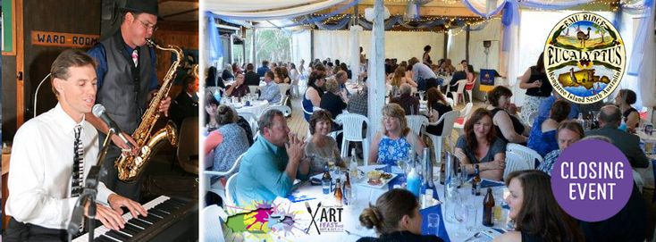 Emu Ridge hosted the Kangaroo Island Art Fest Event 2016. What a great night with live music from Scott and Tim, beautiful food and Colony Cove Cider!