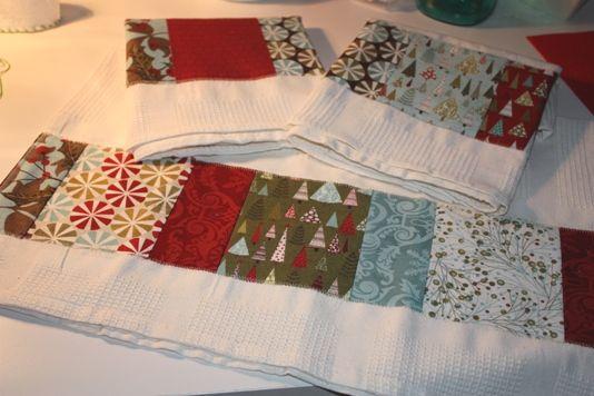 Patchwork Kitchen Towels