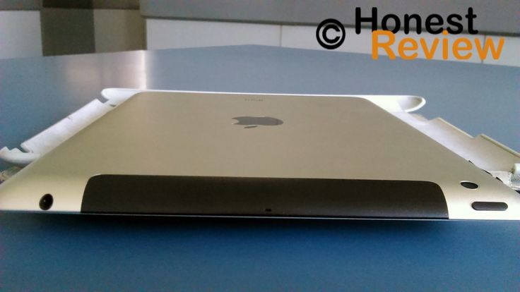 Full back side view of apple ipad 4 tablet