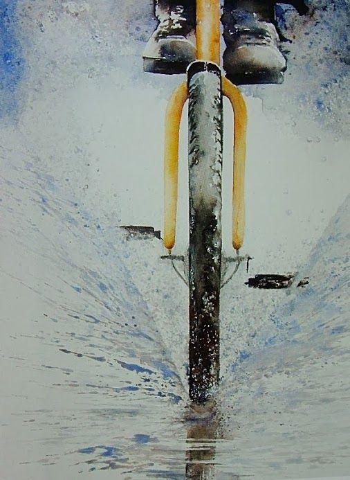 Watercolor by Erna de Backer