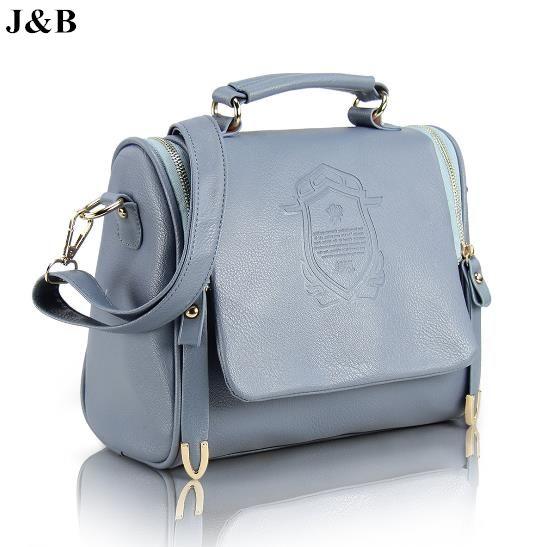 Купить товарJ и B 2015 европейский стиль женщины сумка почтальона сумочки сумки на ремне , женские заклепки сумка свободного покроя сумки bolsas femininas бесплатная доставка YJ1448 в категории перемётные сумкина AliExpress.                             Дизайн: сумка, сумочка, сумка                             Материалы: искус
