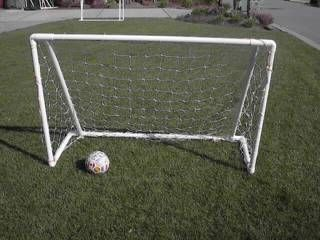 6' x 4' hockey or soccer practice net - tutorial
