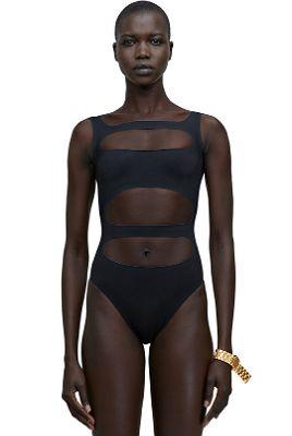 "Acne Studios Black ""Delia"" Swimsuit"
