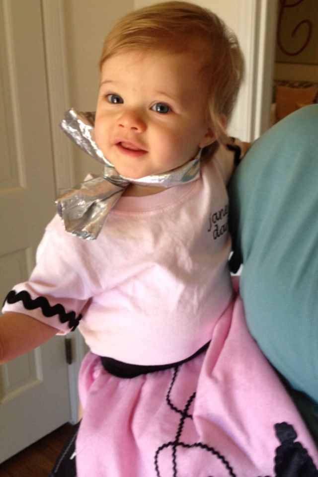 Infant Poodle Skirt Outfit