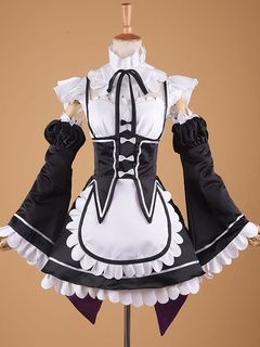 Re Zero Starting Life In Another World Rem Ram Cosplay Costume Maid Cosplay Costume