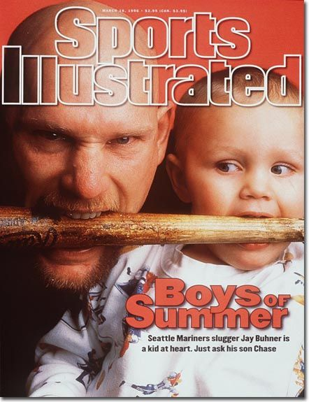 Jay Buhner, Sports Illustrated (1996) #Mariners: Seattle Sports, Marines Baseball, Seattle Marines, All Pro, Illustrations Covers, 1996 Issues, Sports Illustrations, Grand Salami, Illustrations 1996