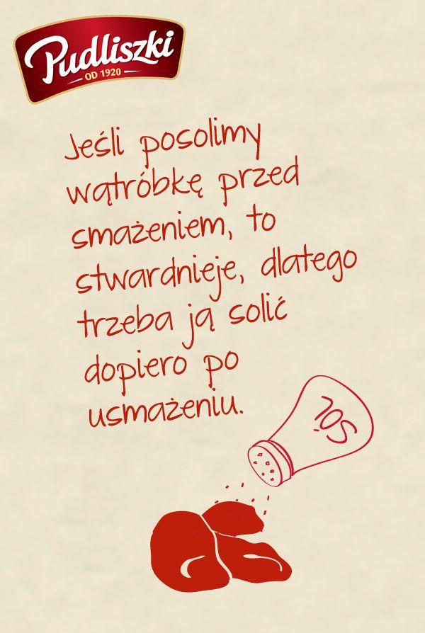 Kuchenne sztuczki #porady #kulinarne #solona #wątróbka