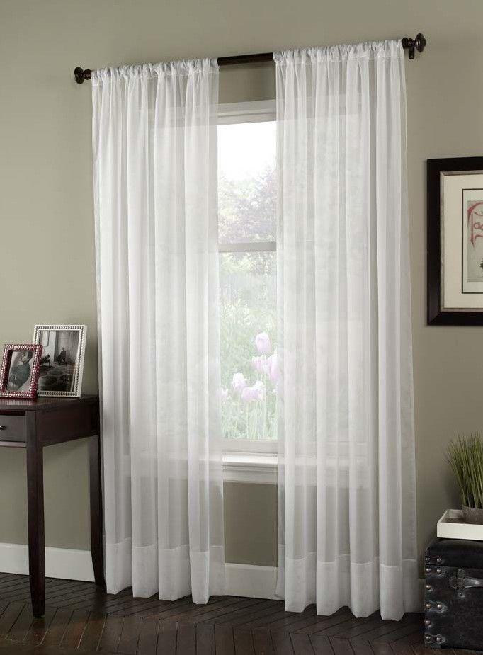 Soho Voile Single Curtain Panel
